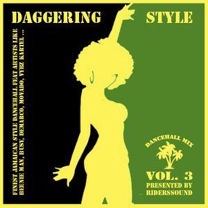 Riders Sound Dancehall Mix Vol.3 Daggering Style
