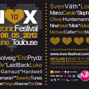 Swanky Tunes - Live @ Inox Electronic Festival 2012 Toulouse (France) 2012.05.04.