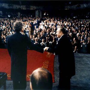 Claudio Arrau: 12 mayo de 1984. Santiago. Chile