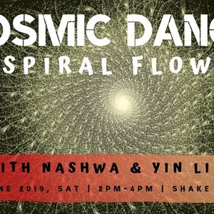 Music list from Cosmic Dance -Spiral flow- in JUNE, 2019