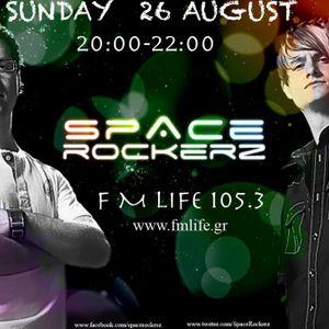 SPACE ROCKERZ  -  26 AUGUST 2012 GUEST MIX
