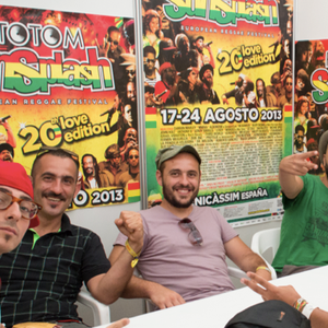 TRAIN TO ROOTS INTERVIEW - ROTOTOM SUNSPLASH 2013