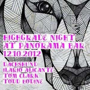 Todd-Bodine @ Panorama Bar 12.10.2012