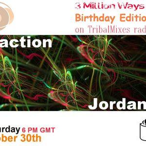 02 - Jordan V. - 3 Million Ways 003 @ TM Radio [ 30-oct-2010 ]