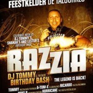 dj Hurricane @ Razzia - dj Tommy B-day bash 23-02-2013