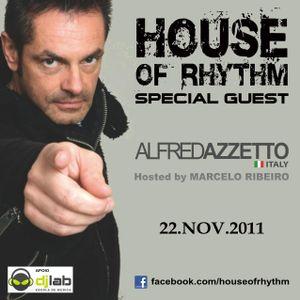 House Of Rhythm - 08/11/2011 - Alfred Azzetto & Marcelo Ribeiro