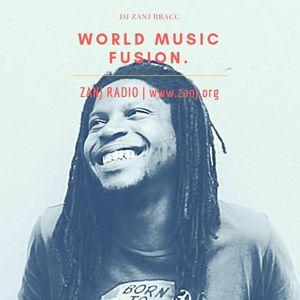 World Music Fusion with DJ Zanj Rracc  Side A: Hip Hop Grooves , Side B: Five Steez talks Pantone.