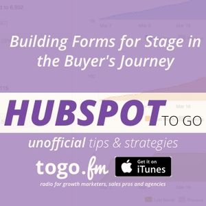 HTG #215 2016 Primer #5 – Building Forms for the Buyer's Journey