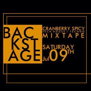 "Cranberry Spicy - ""Backstage"" @ VINTAGE (Mixtape 09.07.16)"