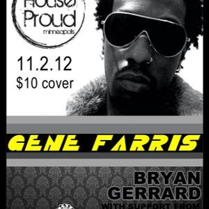 Live @ House Proud 11/2/2012 Rework