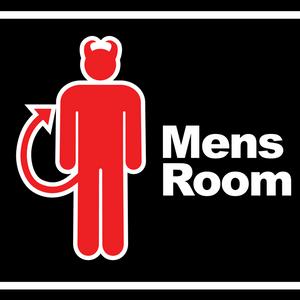 12-15-15 2pm Mens Room has a close call