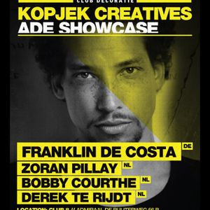Franklin De Costa @ KopjeK ADE Showcase - Club8 Amsterdam (19.10.2012)