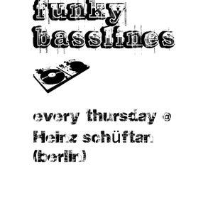 funky basslines @ Heinz Schüftan (Berlin) (26.04.12)