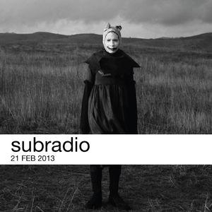 subradio 21 Feb 2013
