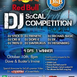 Dave and Busters Open Format DJ Battle Finals Set by Michael