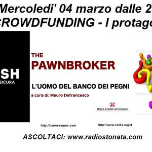 Radio Stonata. Crowdfunding. Growish. Diana Severati. Sandro Del Duca. 04.03.2015