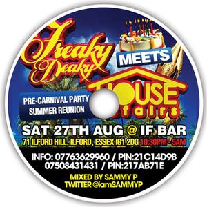 Sammy P - Freaky Deaky vs House Affairs Mix CD