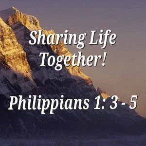 Sharing Life Together
