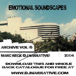 Archive Vol #6 - Emotional Soundscapes - 2004