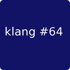 klang#64