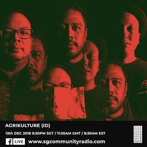 SGCR Radio Show #101 13.12.2018 Episode ft. Agrikulture (Indonesia)
