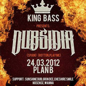 Nosense - Live @ King Bass Festival (Plan B Club, Moscow, 2012-03-24)