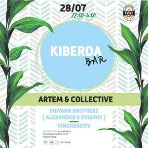 VINOGRADOV special mix, ARTEM & COLLECTIVE @ KIBERDA, KALININGRAD 28.07.2017