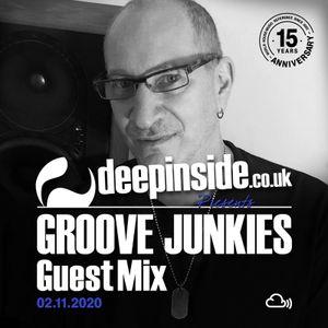 GROOVE JUNKIES is on DEEPINSIDE #09
