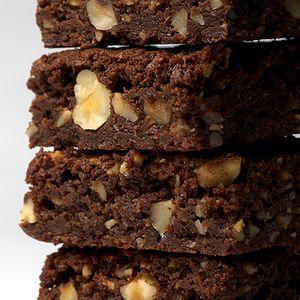 Hot winter brownies