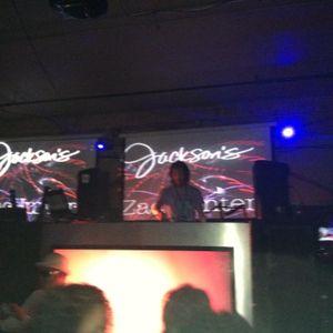 ZacHunter DJ SET @Jackson's,Tampa 1/20/13 Opening for Cristian Arango