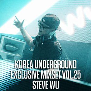 Korea Underground Exclusive Mixset Vol.25  STEVE WU