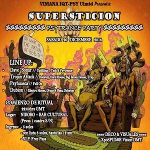 Dave' Sonar - Live @ Superstición In Nikoro Art Bar [20.12.14]
