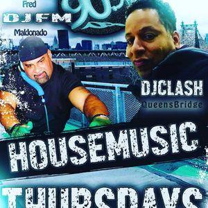 WQFS 90.9 FM & TrackBlasters Radio Pres: House Music Thursdays w/Resident Fred DjFM Maldonado