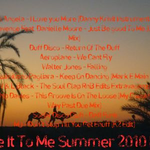 Give It To Me 2010 Summer Mix