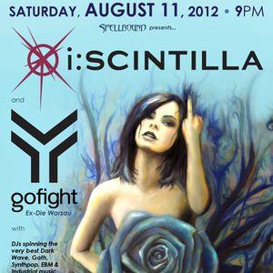 DJGX Setlist (2012-08-10) - SPECIAL: GoFight & I:Scintilla in DC!!!