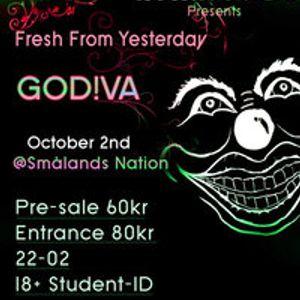 GO!DIVA live at Club M.A.D., Lund, Sweden, 02 Oktober 2010