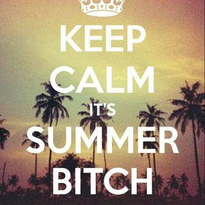 keep calm its summer bitch