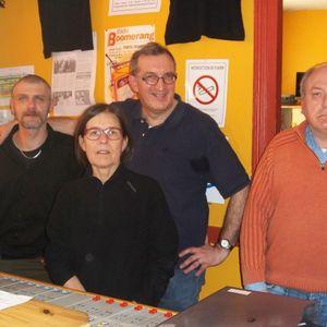 Jean-Michel Bartnicki sur Radio Boomerang. Interview du 11-03-2014
