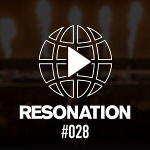 Resonation Radio #028  [June 9, 2021]
