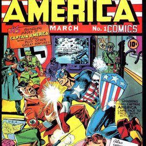 U75GMCP#13: Captain America Comics #1 with Jon M. Wilson