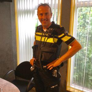 Kennismaken met wijkagent Piet Kats (Korendijk)