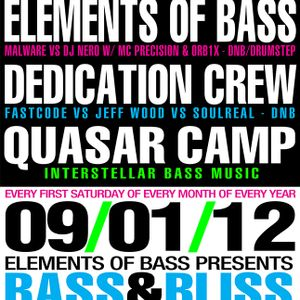 Elements of Bass - Live @ Bass & Bliss 1 Year Anniversary