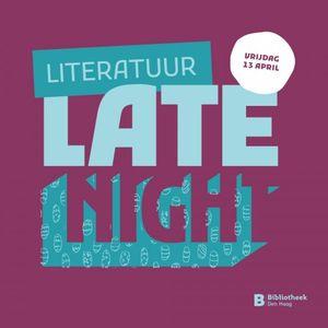 Victor Schiferli - Literatuur Late Night
