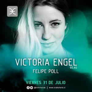 Felipe Poll - Warm Up Victoria Engel @ Club La Feria - 31-07-15