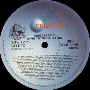 Megabass 2 - 01 - Rave To The Rhythm