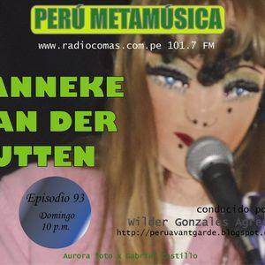 Ep 93 Perú Metamúsica: Entrevista a Janneka Van Der Putten