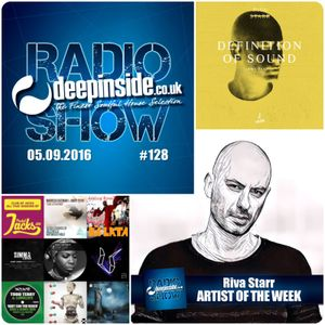 DEEPINSIDE RADIO SHOW 128 (Riva Starr Artist of the week)