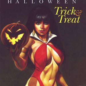 Halloween in the vinyl yard
