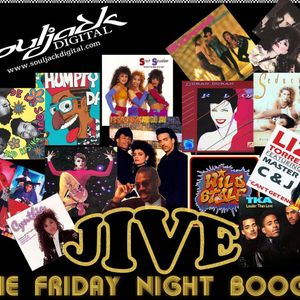 JIVE Retro Mix on souljackdigital.com 09-30-2015, Music from 1983 to 1989 - Dirty MXN