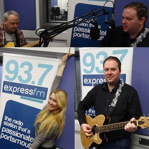 Russell Hill's Country Music Show on Express FM feat. Ceri-Rose + Davey Anscombe. 26/03/17